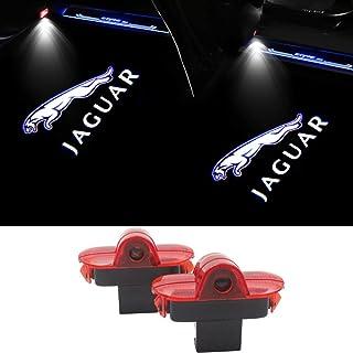 Grneric 简易安装车门 LED 照明迎宾灯阴影投影机适用于门灯科丽激光投影仪标志高清适用于捷豹XJ XK X351 X型(2 件装)