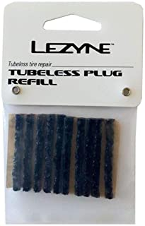 Lezyne 替换橡胶适用于无管套装10件,黑色,1-PK-PTBLS-V104-10 修理材料,m