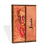 Paperblanks 筆記本 帶閱讀帶 & 內袋   Frida,雙幅畫   迷你(140 x 100 毫米)   176 頁   無橫格