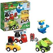 LEGO 乐高 拼插类玩具 得宝系列 10886 我的创意汽车收藏馆 1½+岁 积木玩具
