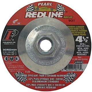 Pearl Abrasive DCRED45H 4-1/2 x 1/4 x 5/8-11 凹陷中心砂轮