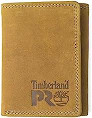 Timberland PRO 男式皮革三折钱包与身份证窗口