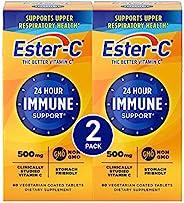 Ester-C 维生素C,500毫克,60粒瓶装(2瓶装)
