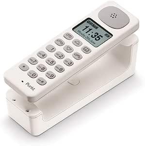 点。 无线电话 DP01DP01 EU Weiß Punkt. DP01 White L 15,5cm, B 4,8cm 白色