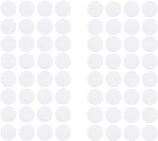 WYKOO 200 张合成滤纸贴纸,0.25 微米滤纸贴纸,用于梅森罐盖,用于蘑菇栽培,20 毫米