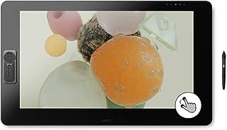 Wacom Cintiq Pro 32 创意笔和触摸显示屏 – 4K 图形绘图显示器带 8192 笔压力和 99% Adobe RGB (DTH3220K0)