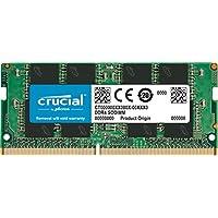 Crucial Single DDR4 (PC4-21300) SR x8 SODIMM 260-Pin 內存條CT32G4SFD8266 2666 MT/s 32GB