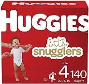 Huggies 好奇 Little Snugglers 婴儿纸尿裤 4号 140片 约一个月用量