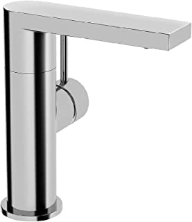Hansa 盥洗台单杆 Hans astela 带 bedinungs 拉杆无排水管, 喷口123毫米, 镀铬, 57142201