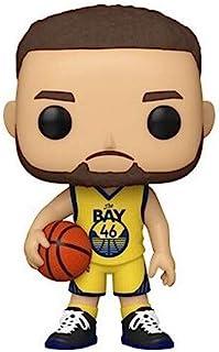 Funko 51015 POP NBA: Golden State Warriors - Steph Curry(替代)S5 可收藏玩具,多色