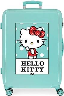 Hello Kitty Bow of Hello Kitty 中号行李箱,48x68x26 厘米 蓝*() 48x68x26 cms