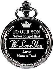 怀表礼物送给儿子 - to My Son | 怀表妈妈和爸爸送给儿子的礼物,圣诞节、情人节、生日