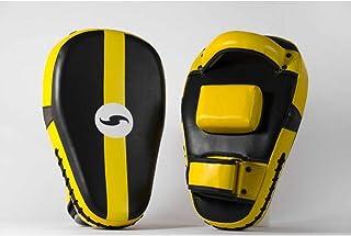 Dorawon Macao 成对长弯曲爪子,适合成人,黑色和黄色
