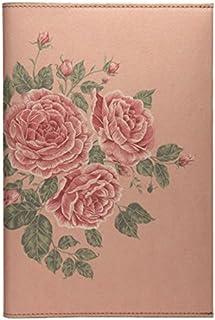 Daycraft 德格夫 花花世界系列笔记本 - 玫瑰茶色