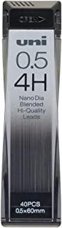 三菱铅笔 自动铅笔芯 Nano Dia 0.5 U05202ND 4H 10個