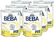 Nestlé 雀巢 BEBA 婴儿奶粉 Pre段(适用于初生婴儿),6罐装(6 x 800g)
