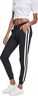 Urban Classics 女式学院撞色运动裤