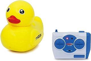 Jamara 410110 410110-RC 水动物 2,4GHz 鸭子 - 多人玩,2 个电机,易转向,*功能,黄色