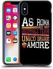 AS Roma,软凝胶手机壳适用于 iPhone x/iPhone xs