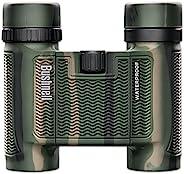 Bushnell H2O 防水/防雾紧凑屋顶棱镜双筒望远镜,迷彩,10 x 25 毫米