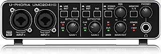 "Behringer UMC204HD U-Phoria USB 音频和""MIDI""接口"
