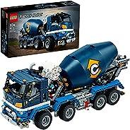 LEGO 乐高 机械组 混凝土搅拌运输车 42112