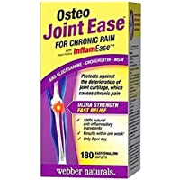 Webber Naturals Osteo 关节缓解 180 粒胶囊
