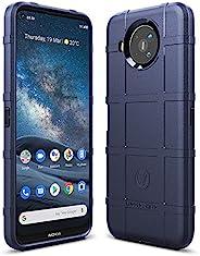 Sucnakp 诺基亚 8.3 5G 保护套 诺基亚 8.3 手机壳 重型减震手机壳 耐冲击保护套 适用于诺基亚 8.3 5G(新蓝色)