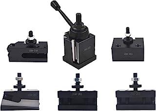 Bxa 250-222 工具柱套装 QC 楔型快速更换车削和面支架,适用于车床秋千 10-15 英寸(6)
