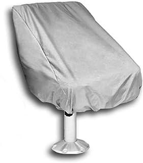 FLR 船座套户外防水蓬蓬蓬船座套防风雨船长座椅套四季保护 - 银色