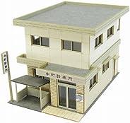 SANKEI 1/150 角落生物系列 诊疗所 纸模型