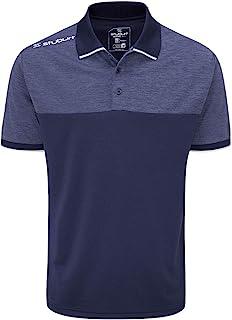 Stuburt 男式运动技术透气吸汗高尔夫 T 恤 Polo 衫