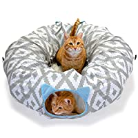 Kitty City 大型猫床、猫眼、猫屋/猫屋 Condo,弹出式床,可堆叠床