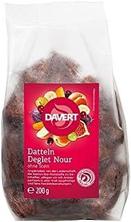 Davert Datteln ohne Stein, 3er Pack (3 x 200 g) - Bio