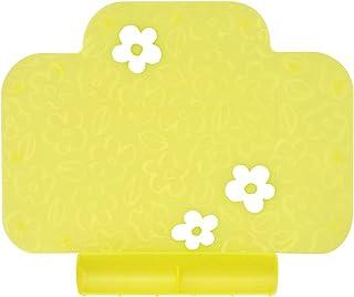 茶壶 餐垫 智能餐具 蓝 象嵌细工很可爱且放心的硅制 附带食物溢出口袋(黄色)