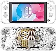冒险游戏 - 命运限量版 - 乙烯基控制台皮肤贴花贴纸套装 - 兼容 Nintendo SWITCH LITE