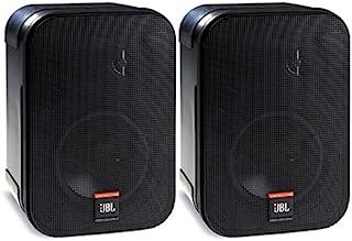 JBL Professional C1PRO 2路专业紧凑型高性能扬声器系统,黑色,成对出售