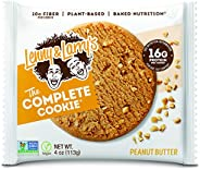 Lenny & Larry's The Complete Cookie, Peanut Butter, Soft Baked, 16g Plant Protein, Vegan, Non-GMO, 4 O