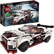 LEGO 76896 Speed Champions Nissan GT-R NISMO 賽車玩具帶賽車司機迷你人偶,賽車積木組