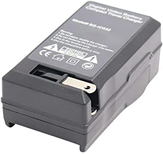 Amsahr 数码替换相机和摄像机迷你电池旅行充电器,灰色CH-GEGB40-1CT (CH-GEGB40-1CT) 灰色