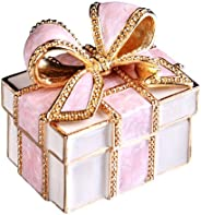 [PIEARTH] PIEARTH 珠宝盒 礼品盒(粉红缎带) EX310-1