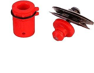 Tru Tuner FX 系列 1.6 英寸铃鼓红色均码 TTSFXT