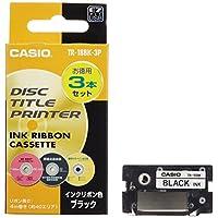 CASIO 卡西歐 墨盒 黑色 3個裝