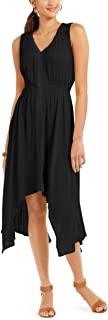 Style & Co. 女士手帕下摆连衣裙 | 尺码 - 大号 | 颜色 - 深黑色