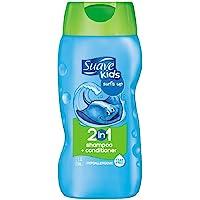 Suave 洗发水和护发素,温和清洁去屑顺滑秀发 不易过敏 12盎司 pack of 6