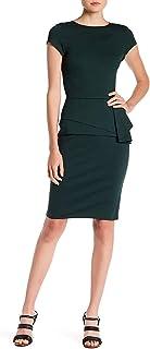 Harper Rose 女式荷叶边紧身连衣裙,尺码 10 - *