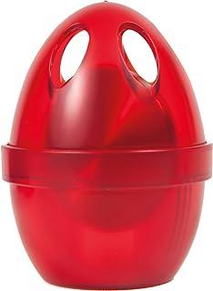 吉伦卡 * 眼镜夹 冰箱用 边缘 红色 径6.5×高さ8.5cm 62150