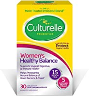 Culturelle 康萃乐 女性平衡益生元  30粒  益生元菌株支持吸收,有益于机体系统和阴道*   经验证的有效益生元,包装可能会有所不同