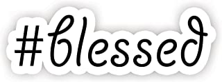 #Blessed Quote - 励志引语贴纸 - 6.35cm 乙烯基贴纸 - 笔记本电脑,Macbook,装饰,窗乙烯基贴纸