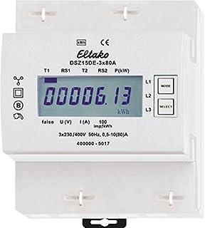 Eltako DSZ15DE-3x80A 三相电流表 未校准 400 V